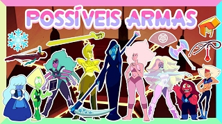 Download Steven Universo - POSSÍVEIS ARMAS DAS GEMS, FUSÕES E DIAMANTES Video