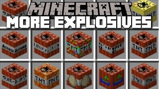 Download Minecraft CRAZY TNT MOD / THE CRAZY BOMBS WITH NUKES AND ANTIMATTER!! Minecraft Video