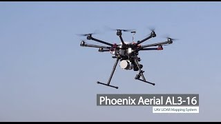 Download Phoenix Aerial AL3-16 UAV LiDAR Mapping System Overview Video