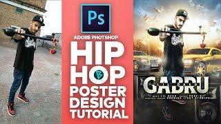 Download Photoshop Tutorial | Hip Hop Poster Design | Photo Manipulation Video