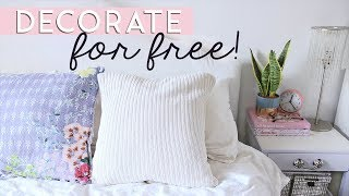 Download Decorate for FREE or on a Really Tight Budget | Easy DIY Decor & Tips Video