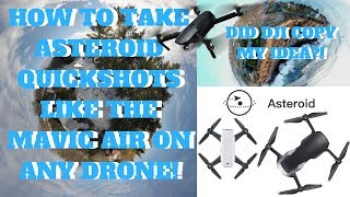 Download How To Take Mavic Air QuickShots on ANY DRONE! - Did Dji Copy My Idea?! Video