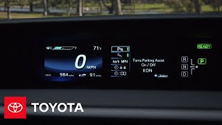 Download The Toyota Mirai l Instrument Cluster | Toyota Video