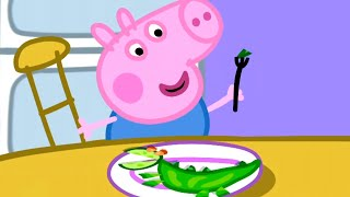 Download Peppa Pig Official Channel | Vegetables for George 🎄Peppa Pig Christmas Video