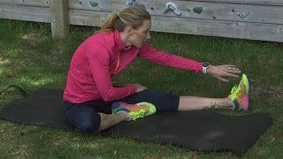 Download 2 Minute Post Run Stretching Routine Video