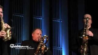 Download Quintessence Saxophone Quintet Plays Bach: Fudge Fugue Video