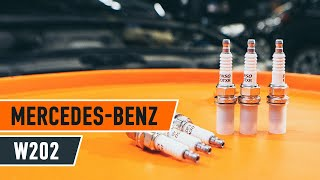 Download How to replace spark plug MERCEDES-BENZ C W202 TUTORIAL   AUTODOC Video