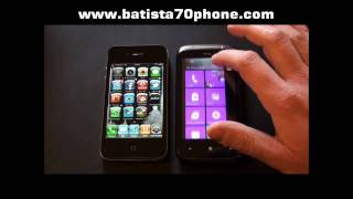 Download HTC Mozart vs iPhone 4 by batista70phone.wmv Video