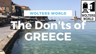 Download Visit Greece - The DON'Ts of Visiting Greece Video
