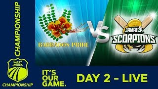 Download *LIVE West Indies Championship* - Day 2 | Barbados v Jamaica | Friday 14 December 2018 Video