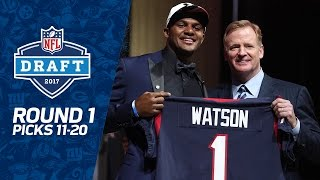 Download Picks 11-20: Another QB, Defense, & More Defense (Round 1) | 2017 NFL Draft Video