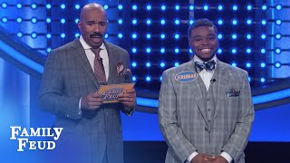 Download OH LORD! Watch the Woods play Fast Money! | Family Feud Video