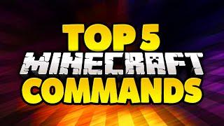 Download TOP 5 MINECRAFT COMMANDS Video