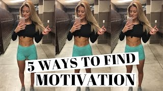 Download HOW TO GET MOTIVATED When You Don't Want To Workout Video