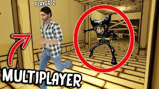 Download Bendy and the Ink Machine MULTIPLAYER... (NEW CHAPTER) Video
