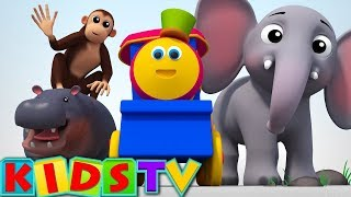 Download Alphabets animals video | ABC Song For Kids And Children | animals phonics song | bob the train Video