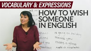 Download Learn English: How to wish someone in person and on Facebook Video