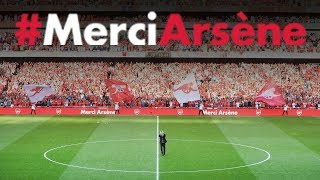 Download YOU'VE GOT TO SEE THIS!   Behind the scenes mini-movie from Arsene Wenger's farewell Video