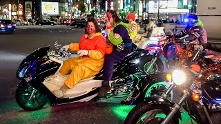 Download Halloween in Tokyo: Chaos, Cars & Costumes Video