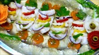 Download Ryba w galarecie ryby rybki karp pstrąg łosoś filet w galarecie przepis uniwersalny #filmykulinarne Video