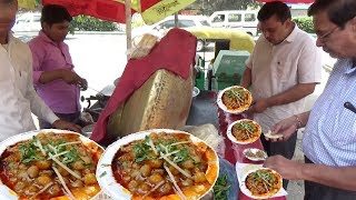 Download Delhi ke Special Chole Kulche | 20 rs me 2 Piece | Street Food Heaven in India Video