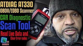 Download ATDIAG AT330 OBDII/EOBD Diagnostic Scan Tool 🚘 : LGTV Review Video