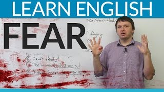 Download Learn English Vocabulary: Talking about FEAR Video