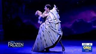 Download Frozen Broadway Performance Of ″Love Is An Open Door″ (GMA) Video