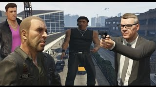 Download GTA IV Characters Appears in GTA V Video