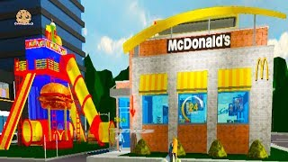 Download Working At McDonalds Fast Food Restaurant - Cookie Swirl C Roblox Game Video Video