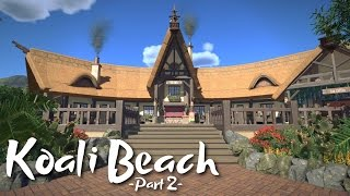 Download 🌴 Tropical Restaurant | Koali Beach Park (Part 2) | ft. Silvarret & Keralis | Planet Coaster Video