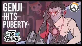 Download Genji Hits Puberty: An Overwatch Cartoon Video