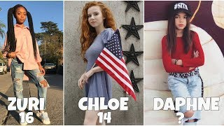 Download Disney Channel Famous Girls Stars From Oldest to Youngest Video
