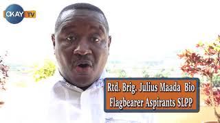 Download Rtd. Brig. Julius Maada Bio talks to Okay Tv Sierra Leone Video