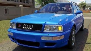Download Audi RS2 Avant 1995 - Forza Horizon 3 - Test Drive Free Roam Gameplay (HD) [1080p60FPS] Video
