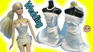 Download Barbie Doll Wedding Dress Designer Maker Playset + Bridal Runway Fashion Show Video