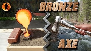 Download Casting a Bronze Axe Start to Finish Video