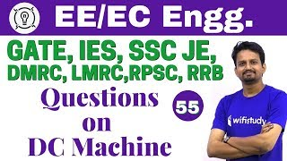 Download 7:30 PM - Electrical Engineering 2018 Ashish Sir | Questions on DC Machine Video