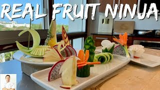 Download The REAL FRUIT NINJA | Cutting Skills Of A Master Sushi Chef Video