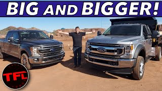 Download Meet The Big Boys of The 2020 Ford Super Duty Lineup: We Check Out These F-550 Work Trucks! Video