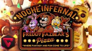 Download NOCHE INFERNAL EN FREDDY FAZBEAR'S PIZZA (Noches 3 y 4) - FIVE NIGHTS AT FREDDY'S GMOD CON BERS Video