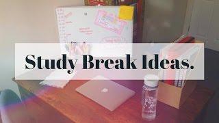 Download Study Break Ideas. Video