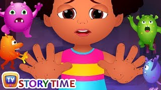 Download Chiku Learns To Wash Her Hands - ChuChuTV Storytime Good Habits Bedtime Stories for Kids Video