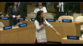 Download Sanaya Bharucha - Teach For India - High-level SDG Action Event on Education Video