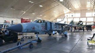 Download MiG 23 Restoration Hangar Air Force Museum Video