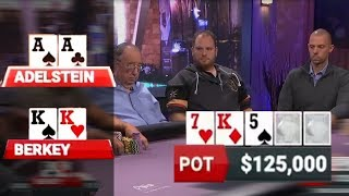 Download AA (Adelstein) vs KK (Berkey) - $459,000 Pot!!! Video