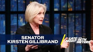 Download Senator Kirsten Gillibrand Says Women's March Was Most Inspiring Moment of Her Life Video