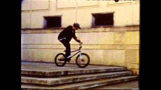 Download BMX street riding on 8mm film Video