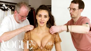 Download Kim Kardashian West Gets Fitted for Her Waist-Snatching Met Gala Look | Vogue Video