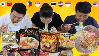 Download Tasting RAMEN INSTANT NOODLES From Around the World! Video